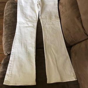 White MAVI jeans